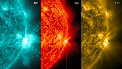LLAMARADA SOLAR X1.3, 25 DE ABRIL 2014
