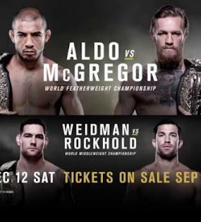 Ingressos do UFC 194 - José Aldo