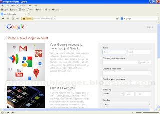 Create new gmail id