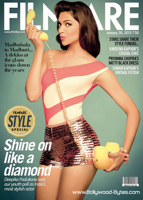 Classy Hot Deepika Padukone Filmfare India 30, January 2013