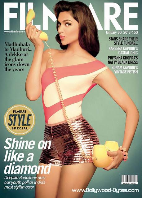 Classy Hot Deepika Padukone Filmfare India 30, January 2013
