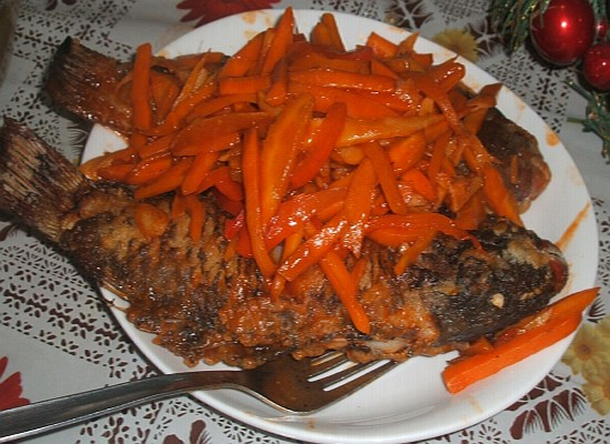 Fish sweet and sour recipe for Sweet and sour fish recipe