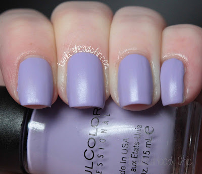 sinful colors a class act swatch review truth or lavendare