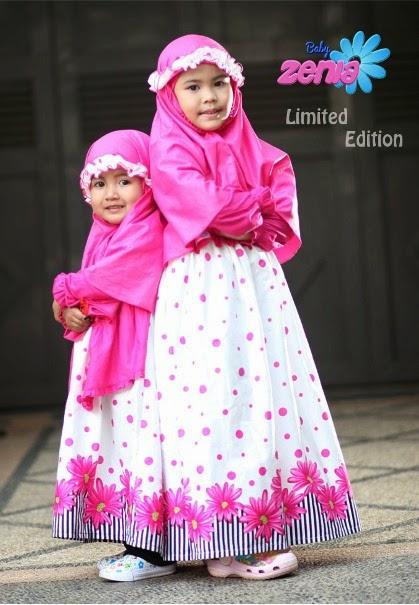 Produsen Baju Muslim Anak Perempuan Model Terbaru 2014