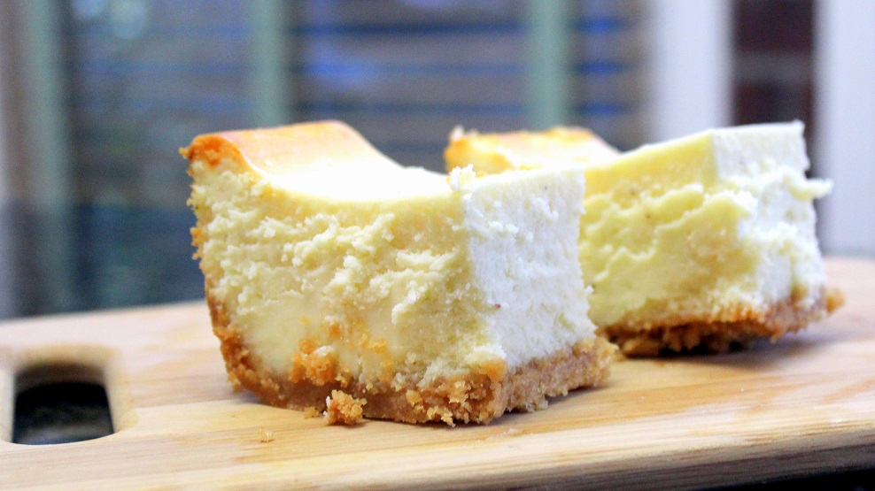 52 Ways to Cook: EggNog Cheesecake Bars - Church PotLuck Dessert