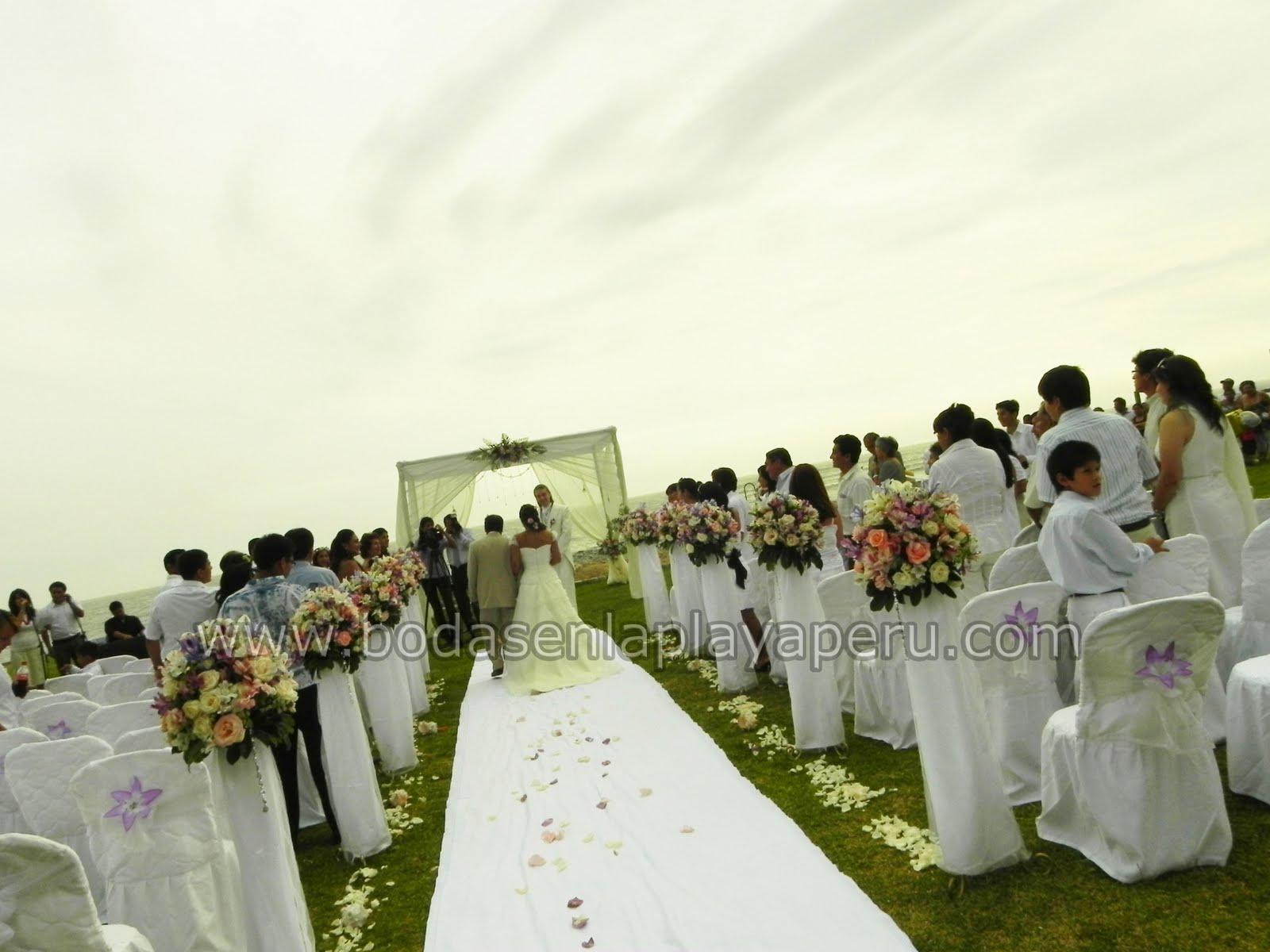 Matrimonio Simbolico En Lima : Bodas en la playa peru lima