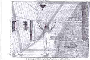 "solitary confinement ""recreation"" by Tommy Silverstein, forever entombed in solitary"