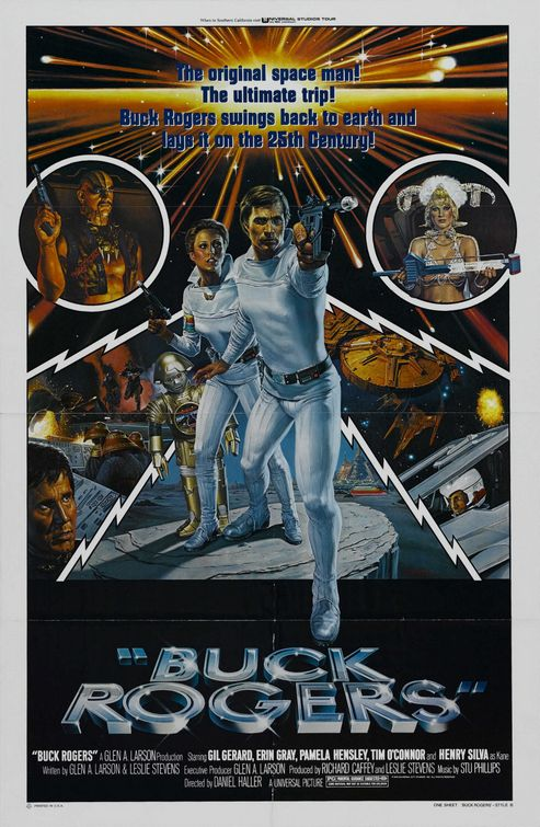 Buck Rogers TV poster