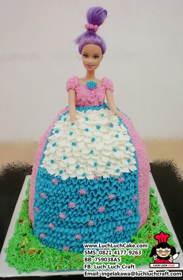 Luch Luch Cake: Kue Barbie Murah Daerah Surabaya Sidoarjo