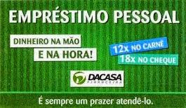 DA CASA FINANCEIRA