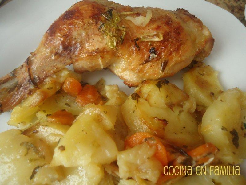 Cocina en familia pollo asado for Cocina en familia