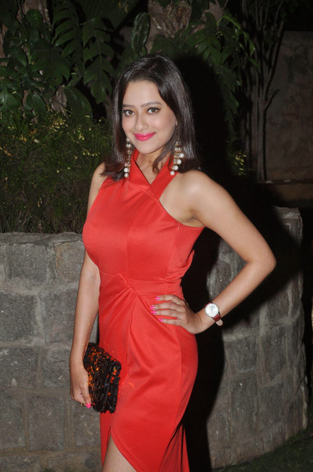 Actress Madalasa Sarma Latest Cute Hot Spicy Photos Gallery At Ramleela Movie Platinum Disc Function