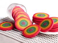 Resep Kue Kuping Gajah Rainbow Goreng Gurih Dan Renyah