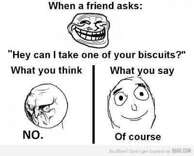 When a friend asks