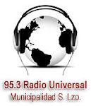 RADIO MUNICIPAL FM UNIVERSAL 95.3 Mhz.