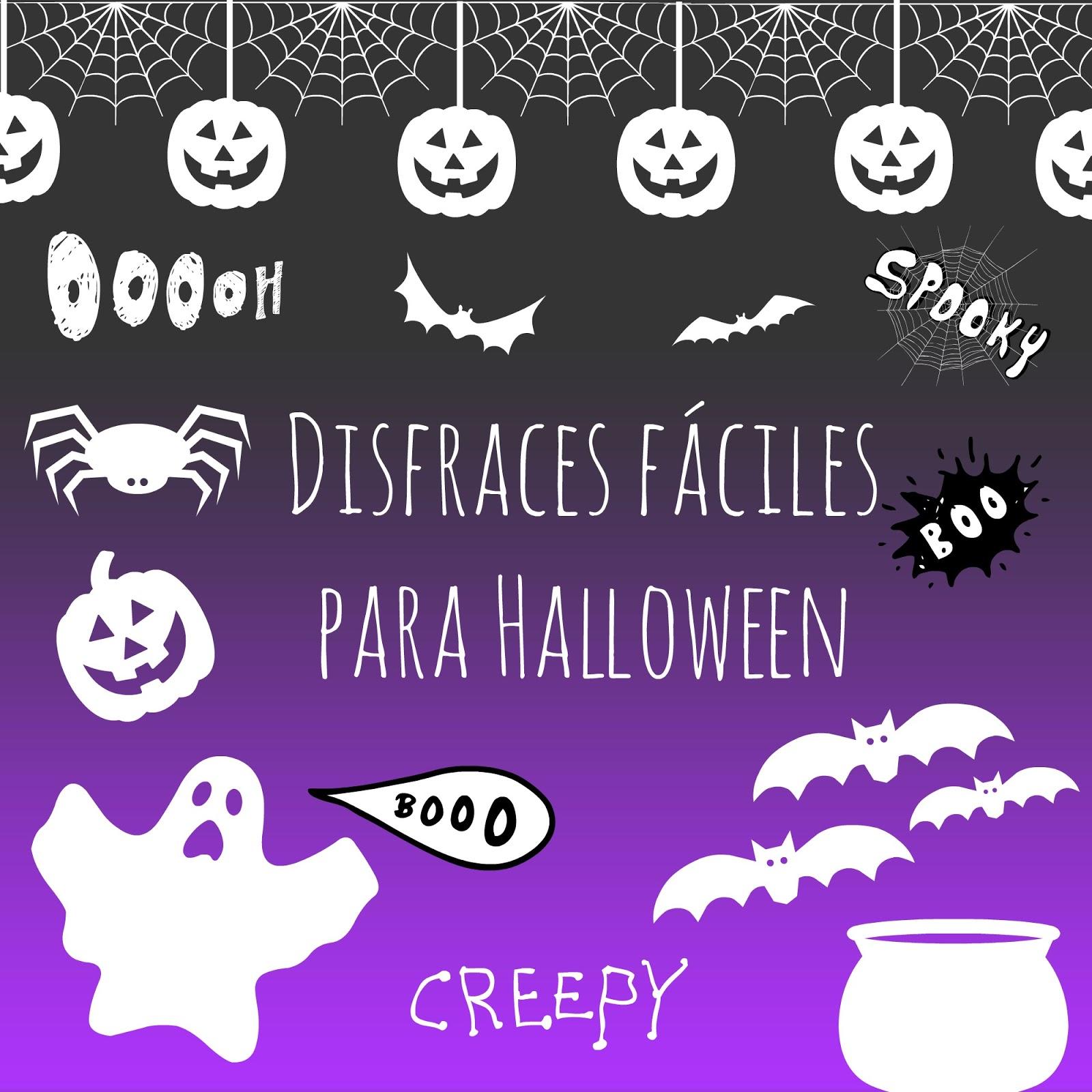 Haciendo cosas únicas: Disfraces para Halloween