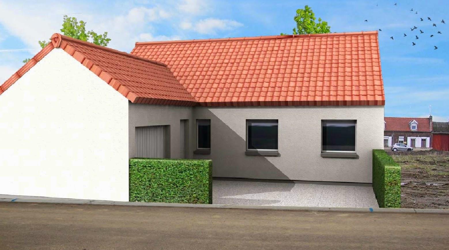 Maison-Familiale LILLE: CARVIN - Plain Pied - 85 m²