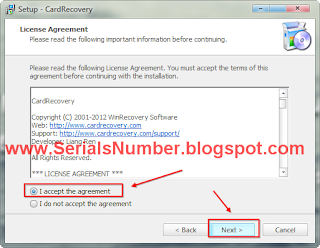 card recovery 6.10 registration key list