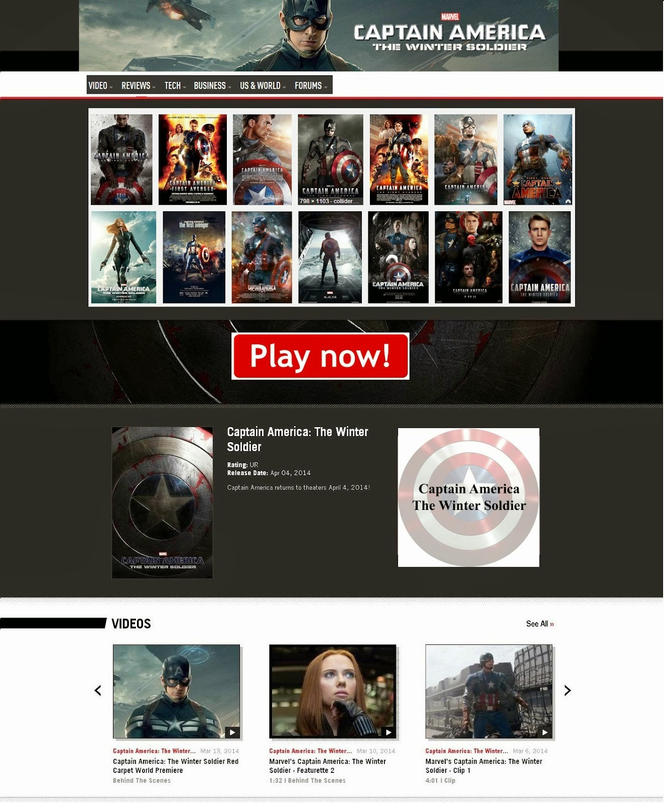 Watch Captain America The Winter Soldier Online Free