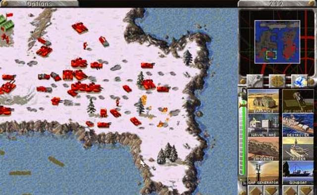 Command and Conquer Red Alert 1 PC Games Screenshots