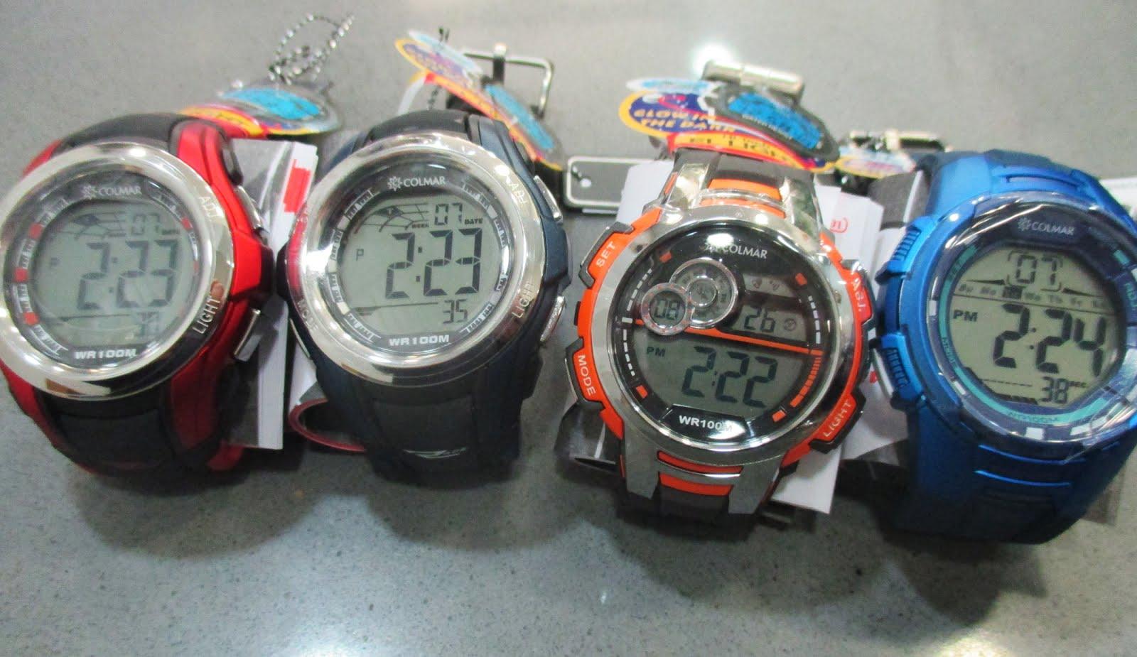 Relojes digitales Colmar para chico