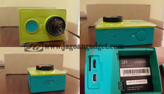 Desain Action Camera Xiao Yi