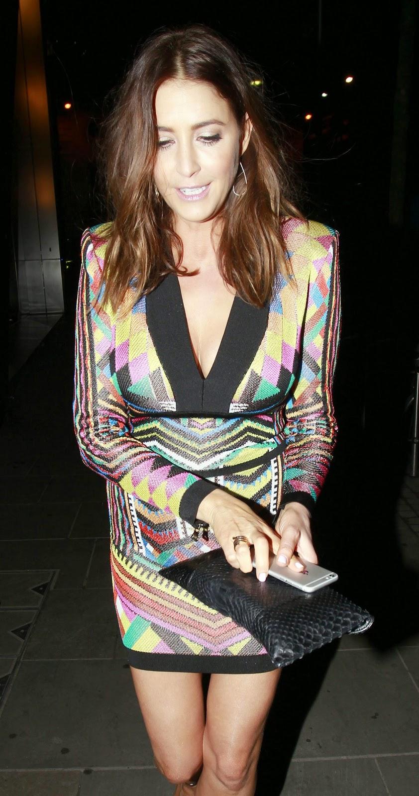 Lisa Snowdon – BRIT Awards 2015 in London