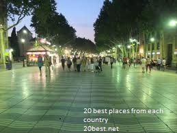 Wonder of La Rambla street latest photos 2012 night