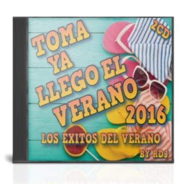 VA – Toma Ya Llego El Verano 2016 Los Exitos Del Verano [By RDj] [2cd][MG]