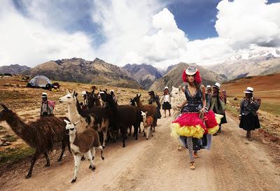 Chicas muy hermosas en Perú (10 fotos de mujeres)