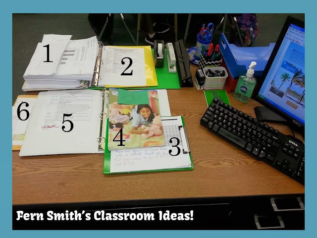 Fern Smith's Classroom Ideas Tuesday Teacher Tips: Sub Plans and a Freebie!