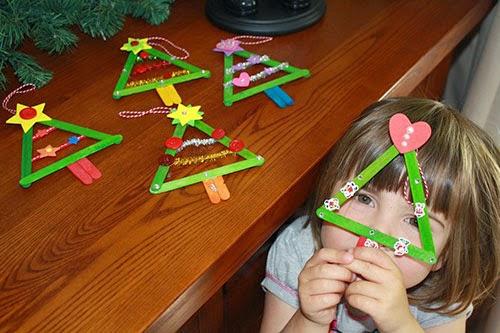 Atividades de Natal com sucata para educação infantil