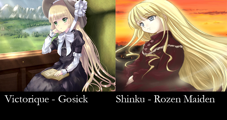 Similar characters - victorique and shinku