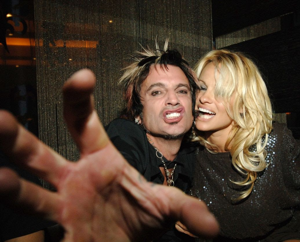 Pamela anderson tommy lee wedding bands - Tommy Lee And Pamela Anderson 2007 Photo Denise Truscello Getty