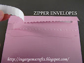 Zipper Envelope SVG File x3 Styles