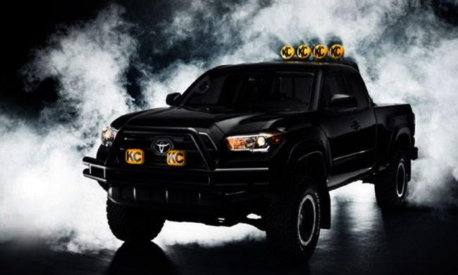 """""""Back to the Future"""" 2016 Toyota Tacoma Travels Back to 1985"""