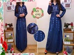 6112 Gamis Jeans Wash SOLD OUT