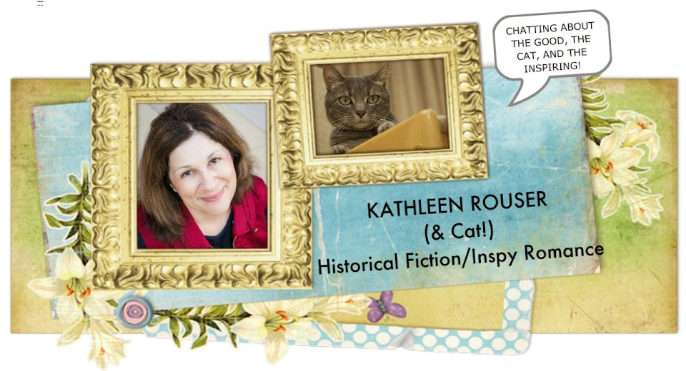 Kathleen Rouser (and Cat!)