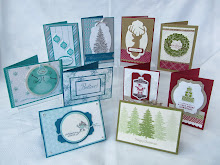 Christmas Card Buffet Stamp Class