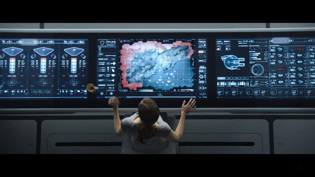 Mesa de control de Oblivion