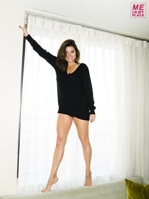 """Tiffani Thiessen – Esquire's """"Me In My Place"""" Photoshoot ... Tiffani Thiessen 2013 Me In My Place"""