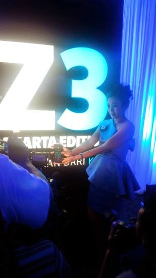 launching BlackBerry Z3