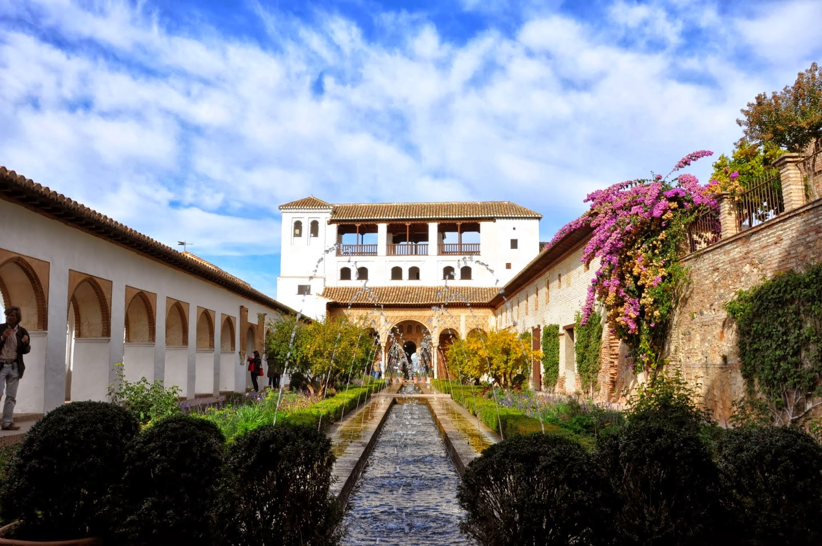 Itchy Feet Adventures: Alhambra - the Gardens of Generalife