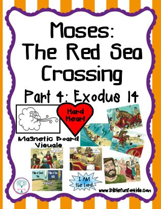 Bible Fun For Kids: Moses and the Red Sea Crossing Visuals
