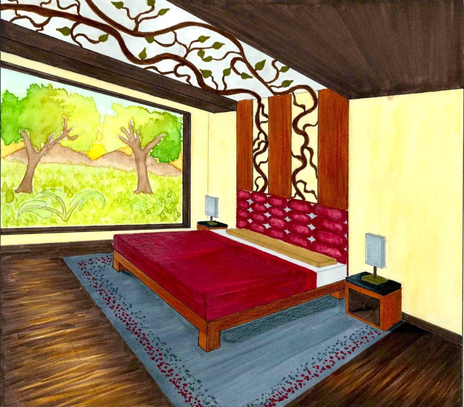 Dormitorio Dibujo ~ Dibujo dormitorio Imagui