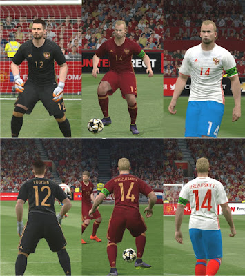 PES 2016 Russia Euro 2016 Kitpack by Ercan Güney