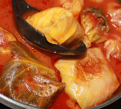 Italian Stuffed Cabbage Roll Recipe