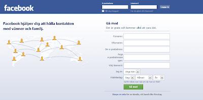 Skapa en profil i Facebook för marknadsföring