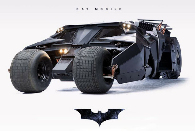The Batmobile of Batman Begins and The Dark Knight - Specs &amp; Pictures