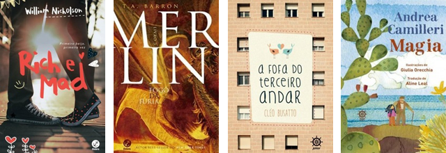 Lançamento de Livros - Junho / Editora Galera Record